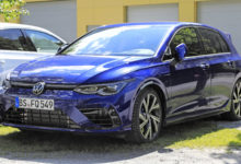 Photo de La VW Golf R Mk8 connue avant son lancement officiel